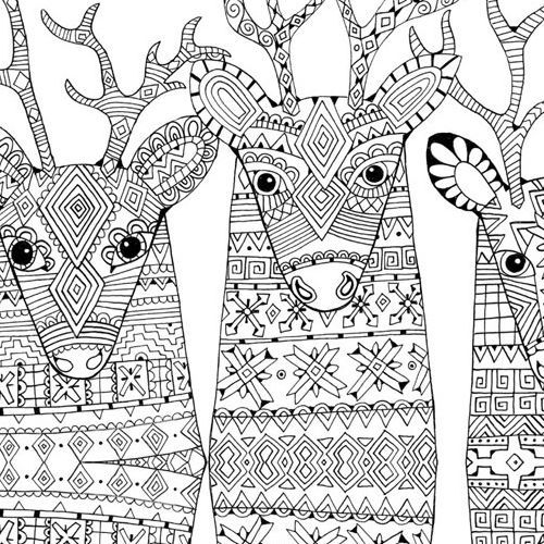 Wonderful Christmas Adult Coloring Pages - Christmas Moment