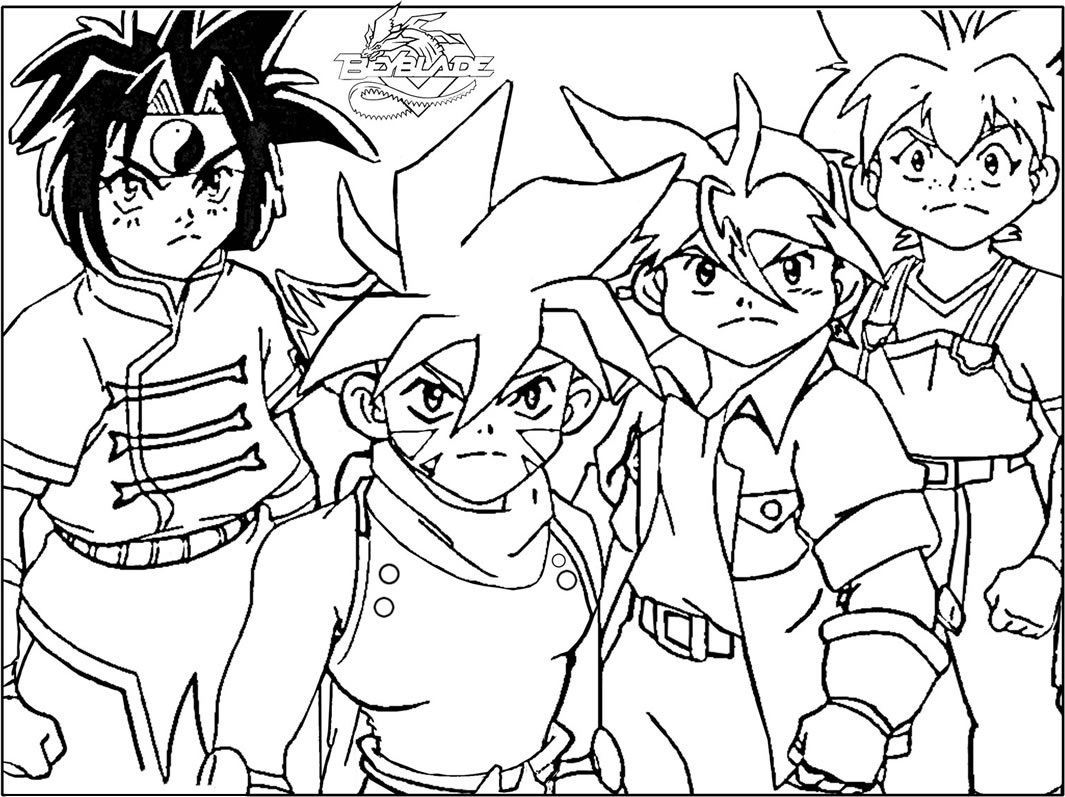 Beyblade Coloring Pages - Coloring Home