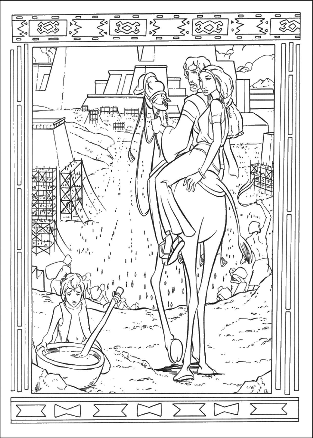 Prince of egypt coloring pictures - a-k-b.info