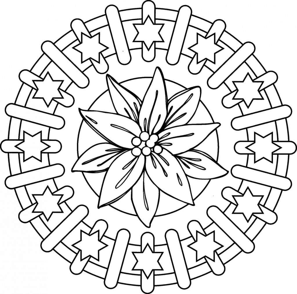 Free Mandala Coloring Pages Free Mandalas Coloring Pages Kids Type