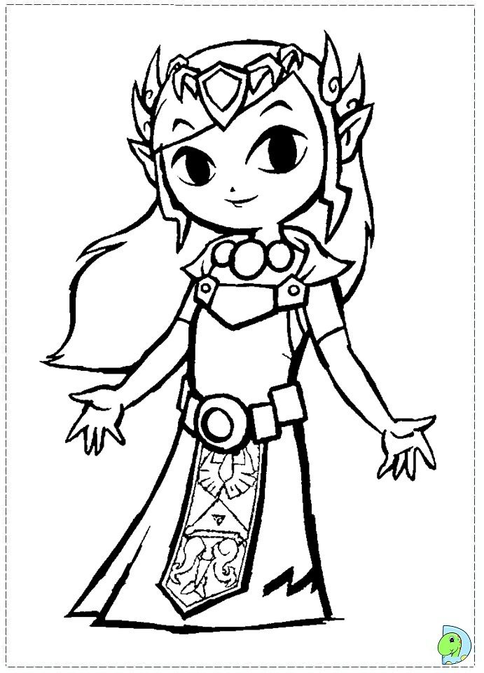 The Legend Of Zelda Coloring Pages Az Coloring Pages Legend Of Coloring Pages