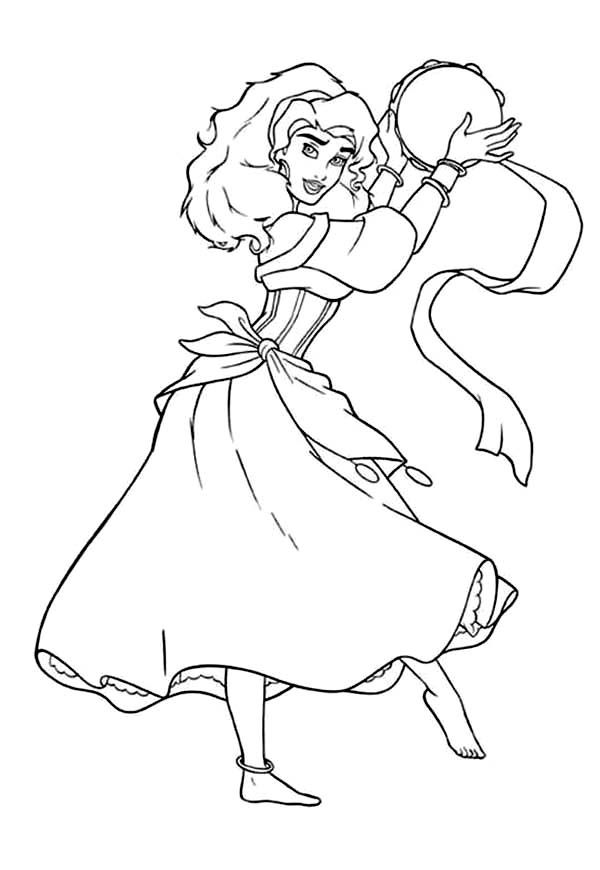 hunchback coloring pages - photo#41