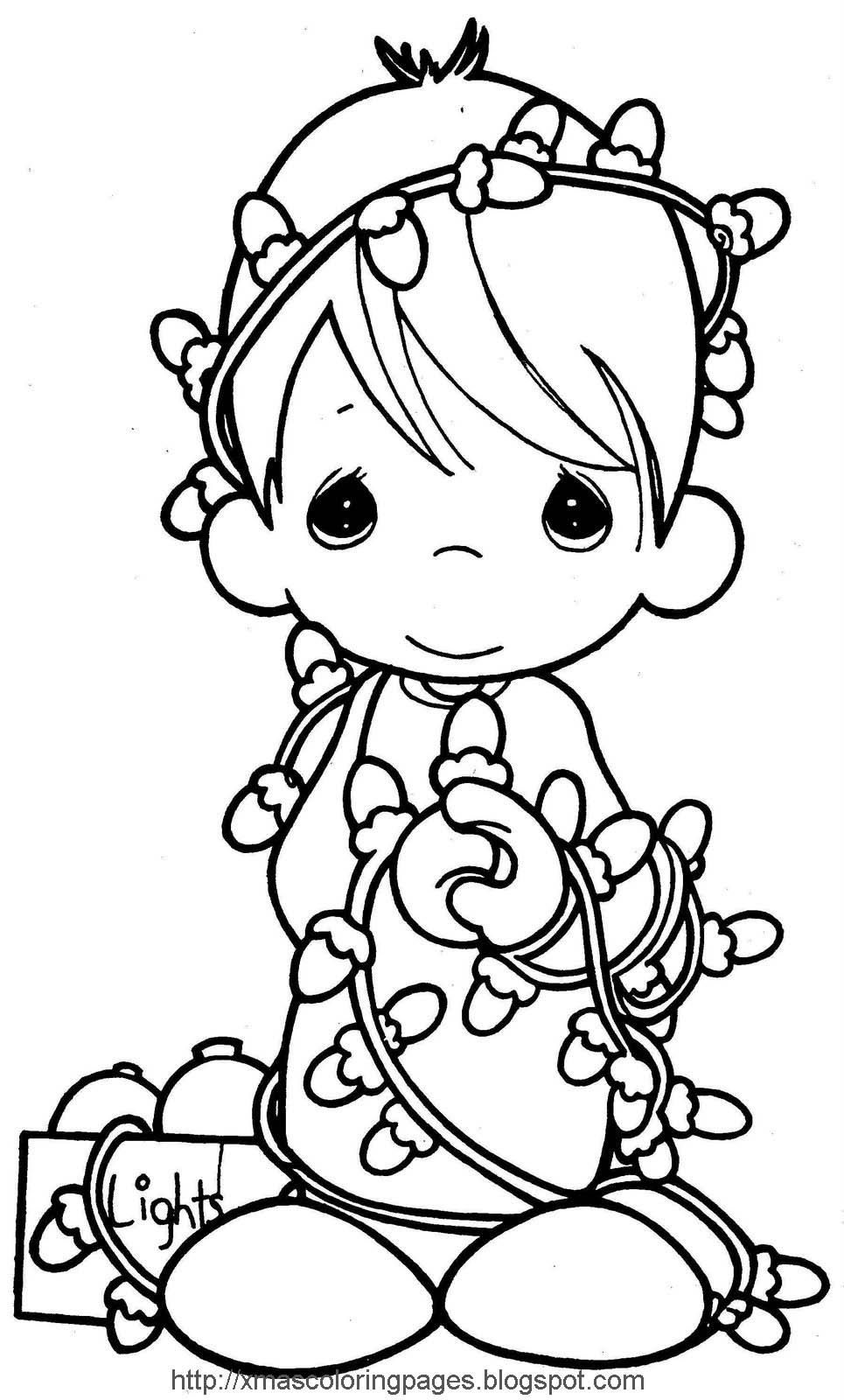 Christmas Angels Coloring Pages To Print - Coloring Home