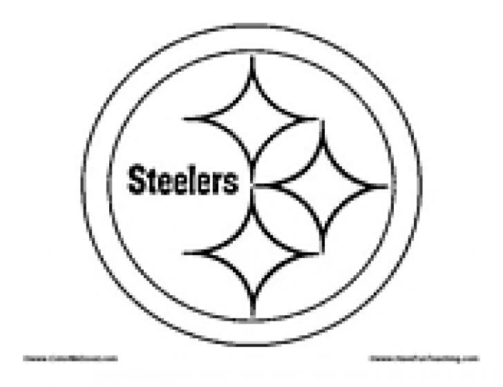 free printable steelers coloring pages - photo#5