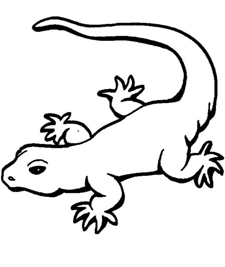 Coloring: Leopard Gecko Coloring Pages - Coloring Home