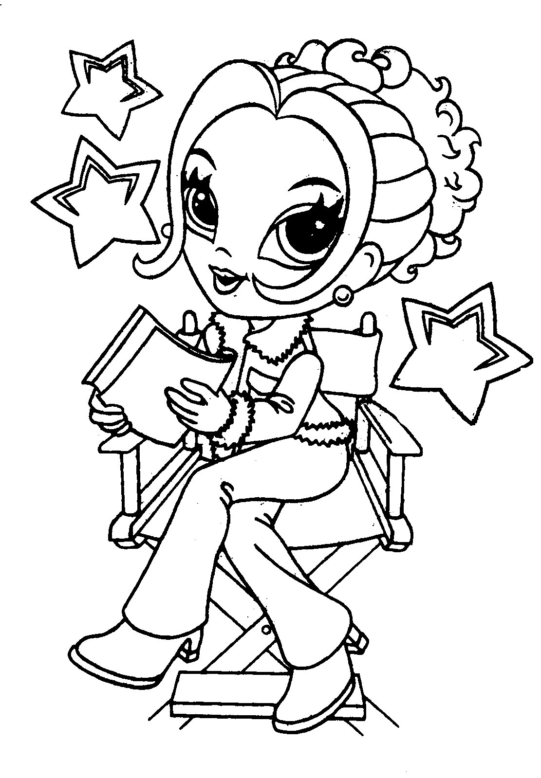 lisa frank free coloring pages - photo#15