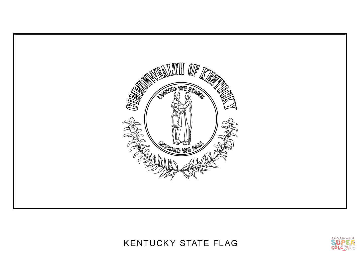 Kentucky State Symbols Coloring Sheets Also Test Of Genius Worksheet D ...