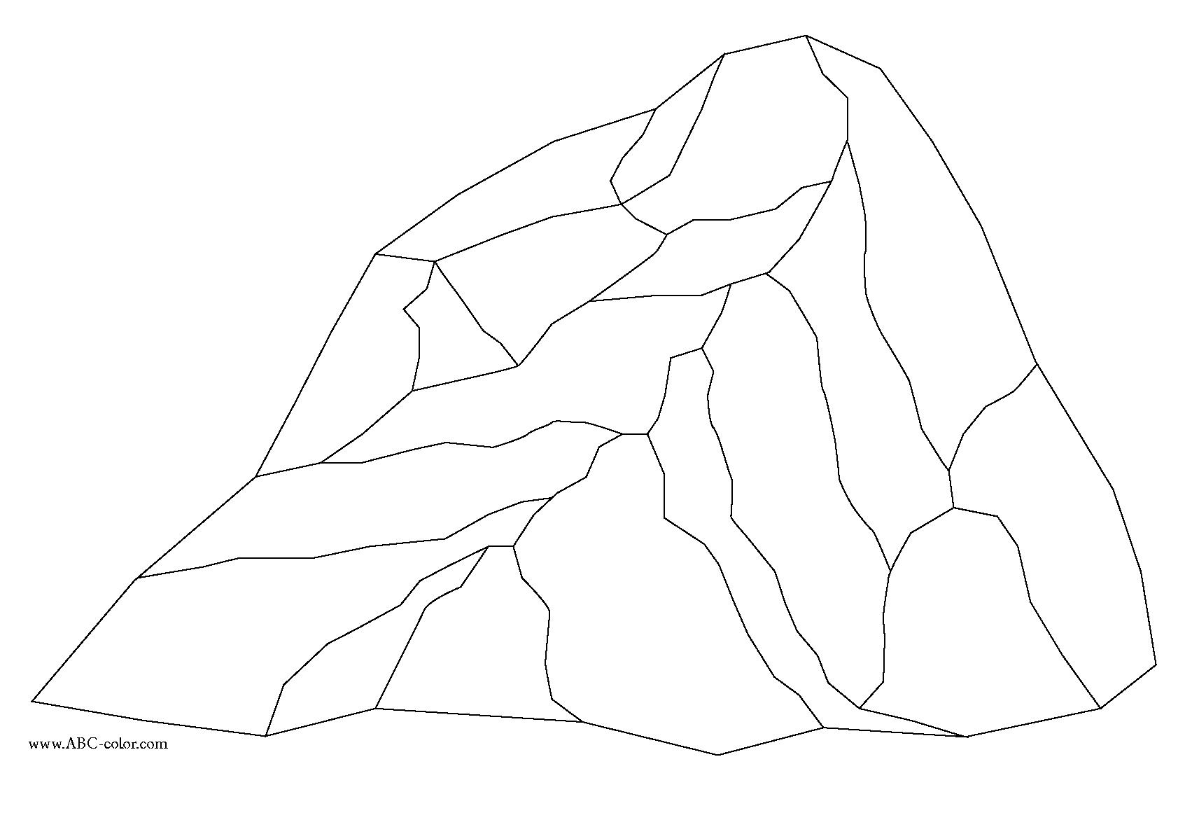 Rock Coloring Pages Printable 5 10 Kaartenstemp Nl