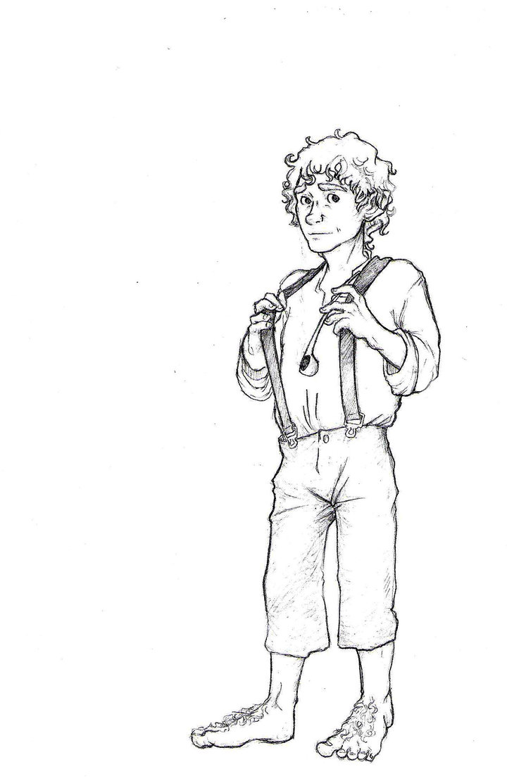 Hobbit Coloring Pages - Coloring Home