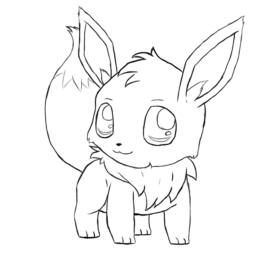 Pokemon Eevee Coloring Pages Images Pokemon Images Eevee Coloring Pages