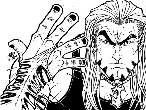 Jeff Hardy WWE Coloring Page