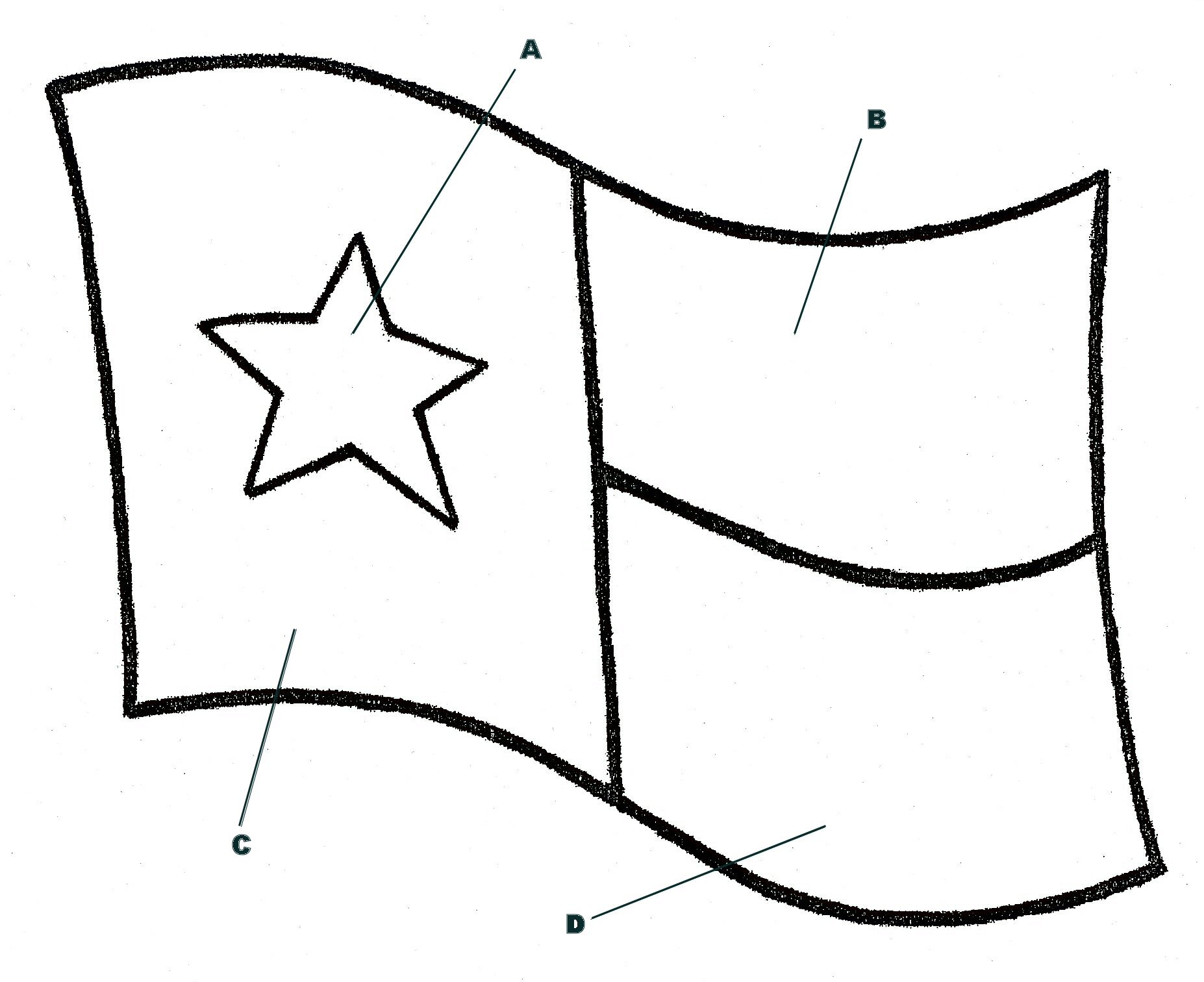 Texas flag coloring page az coloring pages for Coloring pages for texas