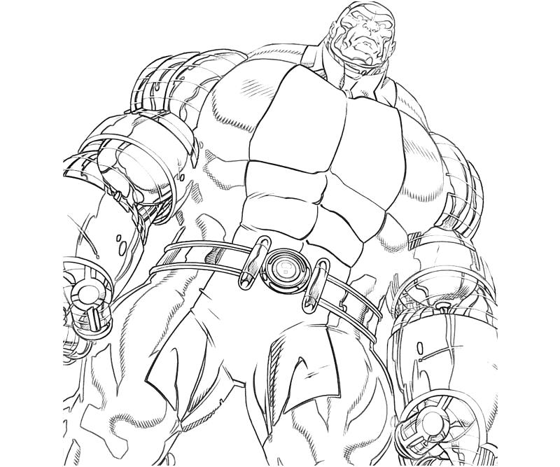 X Men Colossus Coloring Pages - Coloring Home