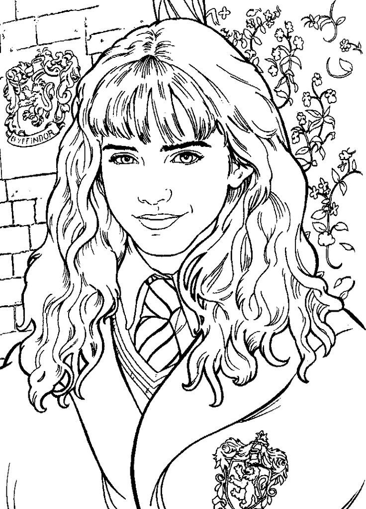 Easy Harry Potter Coloring Sheets