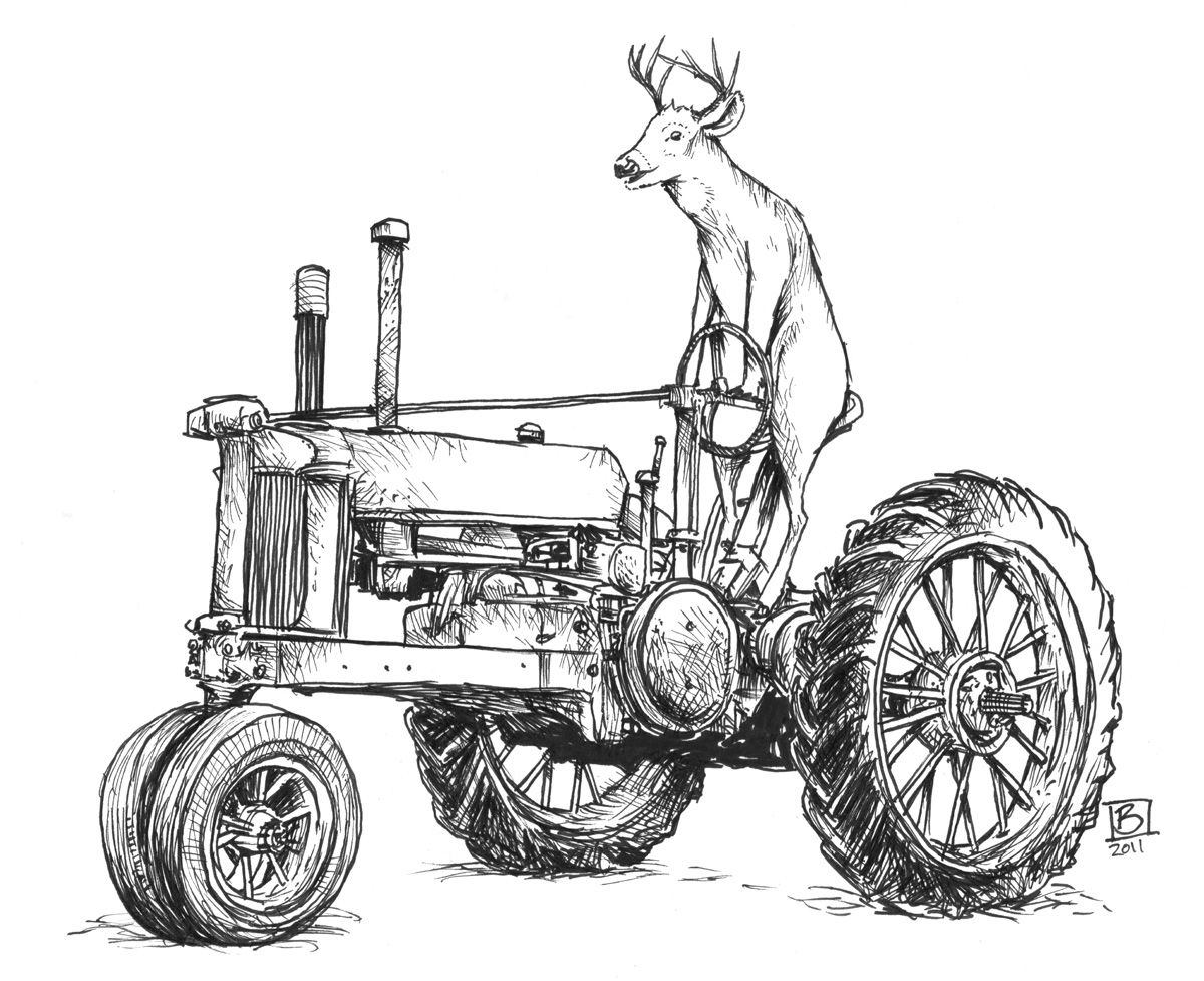 jhon deere coloring pages - photo#31