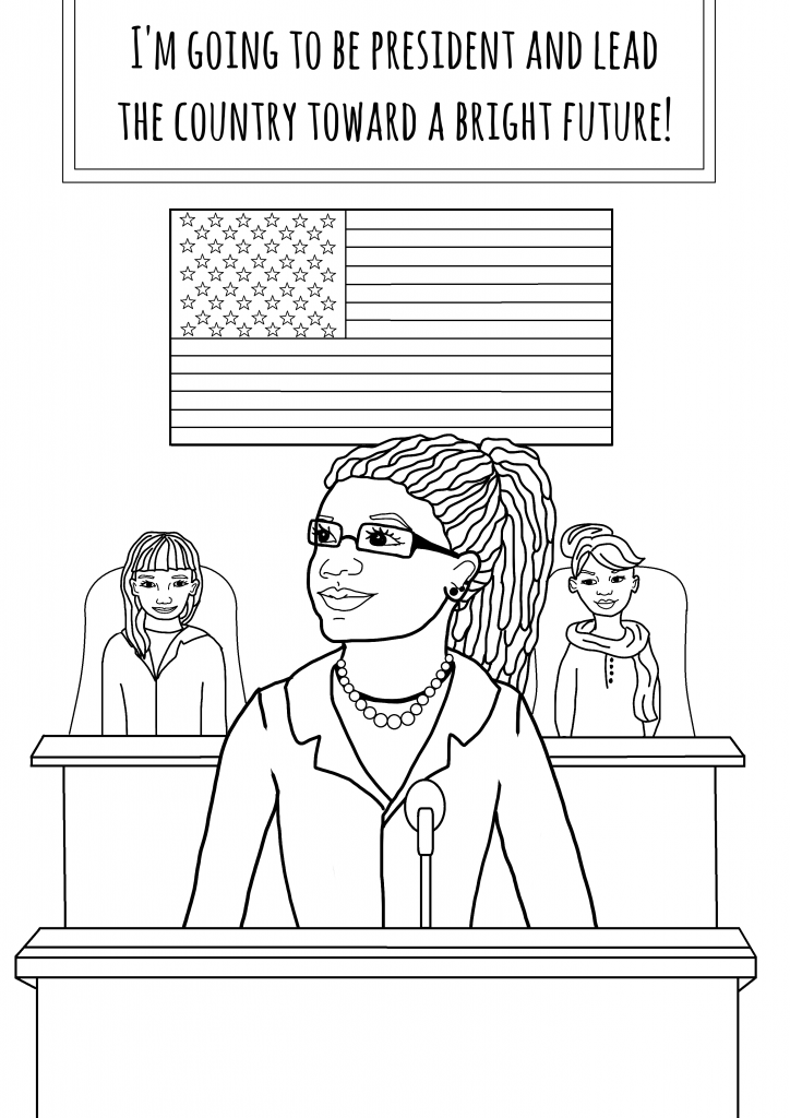 African American Activists Coloring Pages - AZ Coloring Pages
