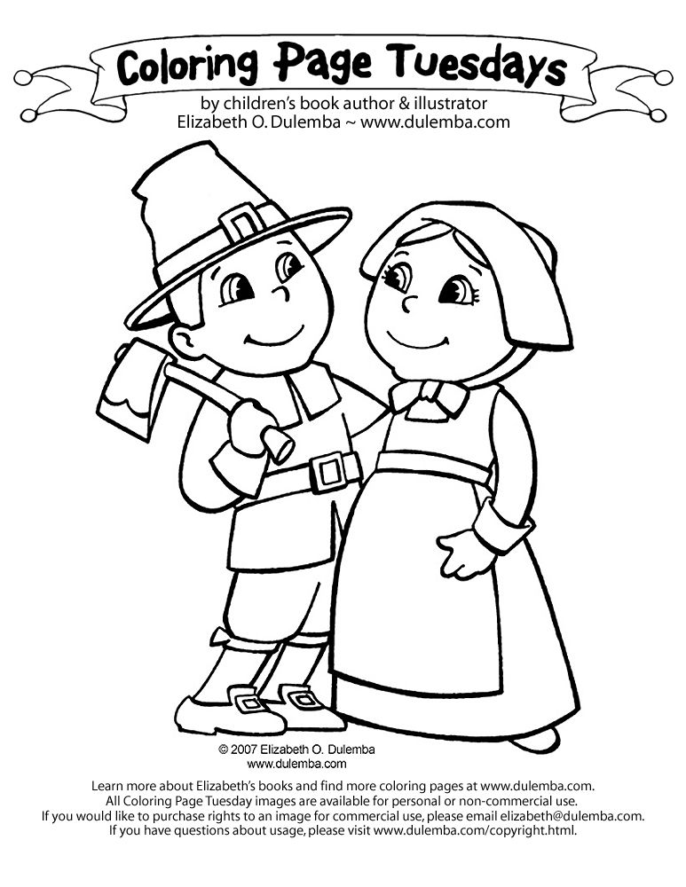 Free N Fun Thanksgiving Coloring Pages : Thanksgiving Coloring Pages Pilgrims Praying Coloring Home