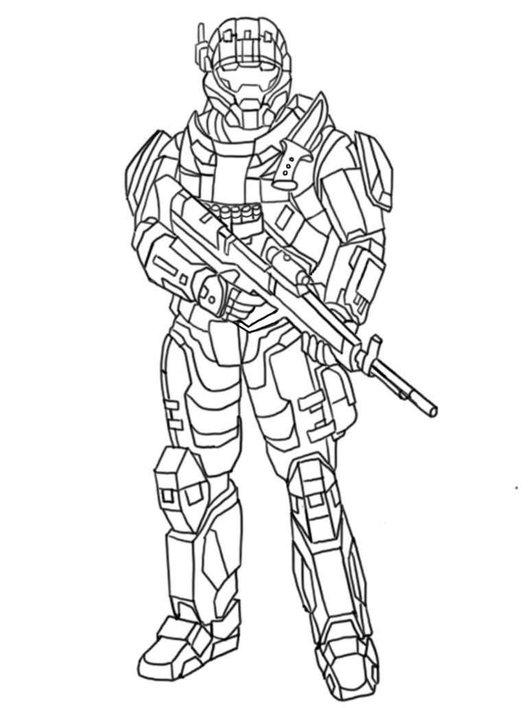 Halo printable coloring pages coloring home for Halo coloring pages