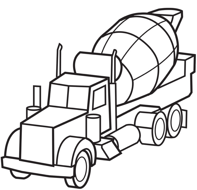 Truck Color Pages Monster Trucks Online Coloring Page 1