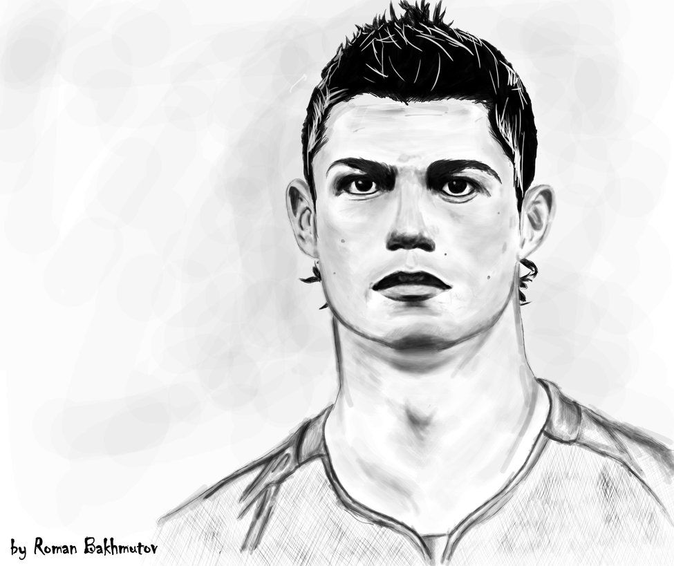 Drawing Lines With C : Cristiano ronaldo coloring pages home