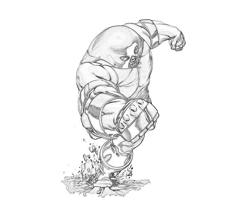 Juggernaut Coloring Pages Coloring