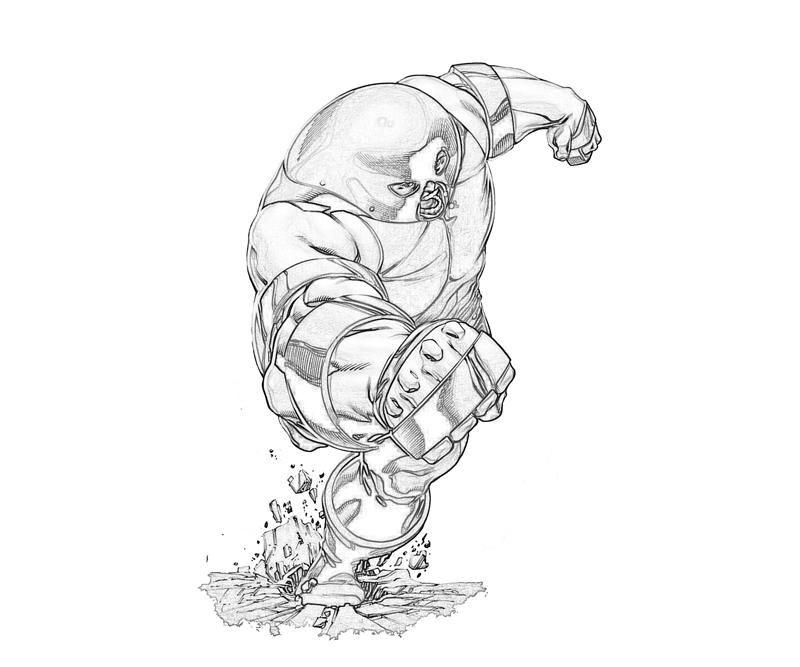 marvel juggernaut coloring pages - photo#9