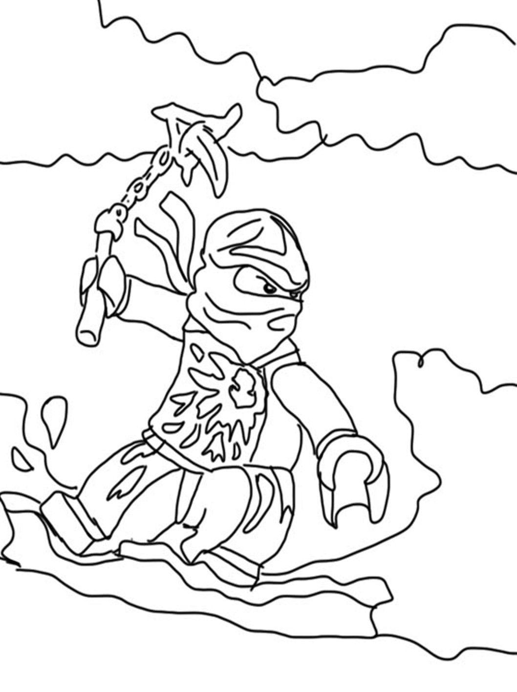 ninjago nya coloring page  coloring home