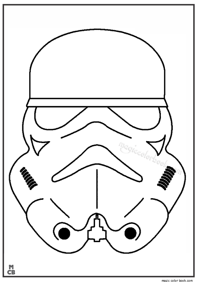 photograph regarding Printable Star Wars Coloring Pages named Star Wars Stormtrooper Coloring Internet pages Printable - Coloring Residence