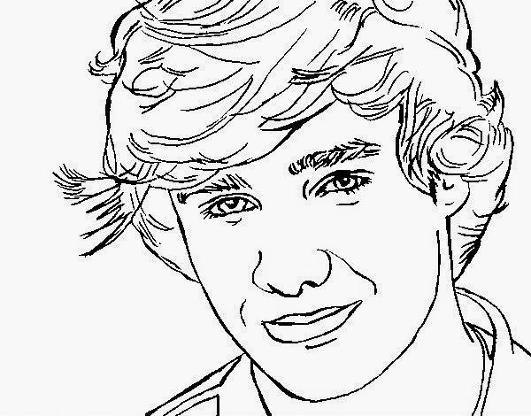 One Direction Kleurplaten Printen One Direction Kleurplaten Printen