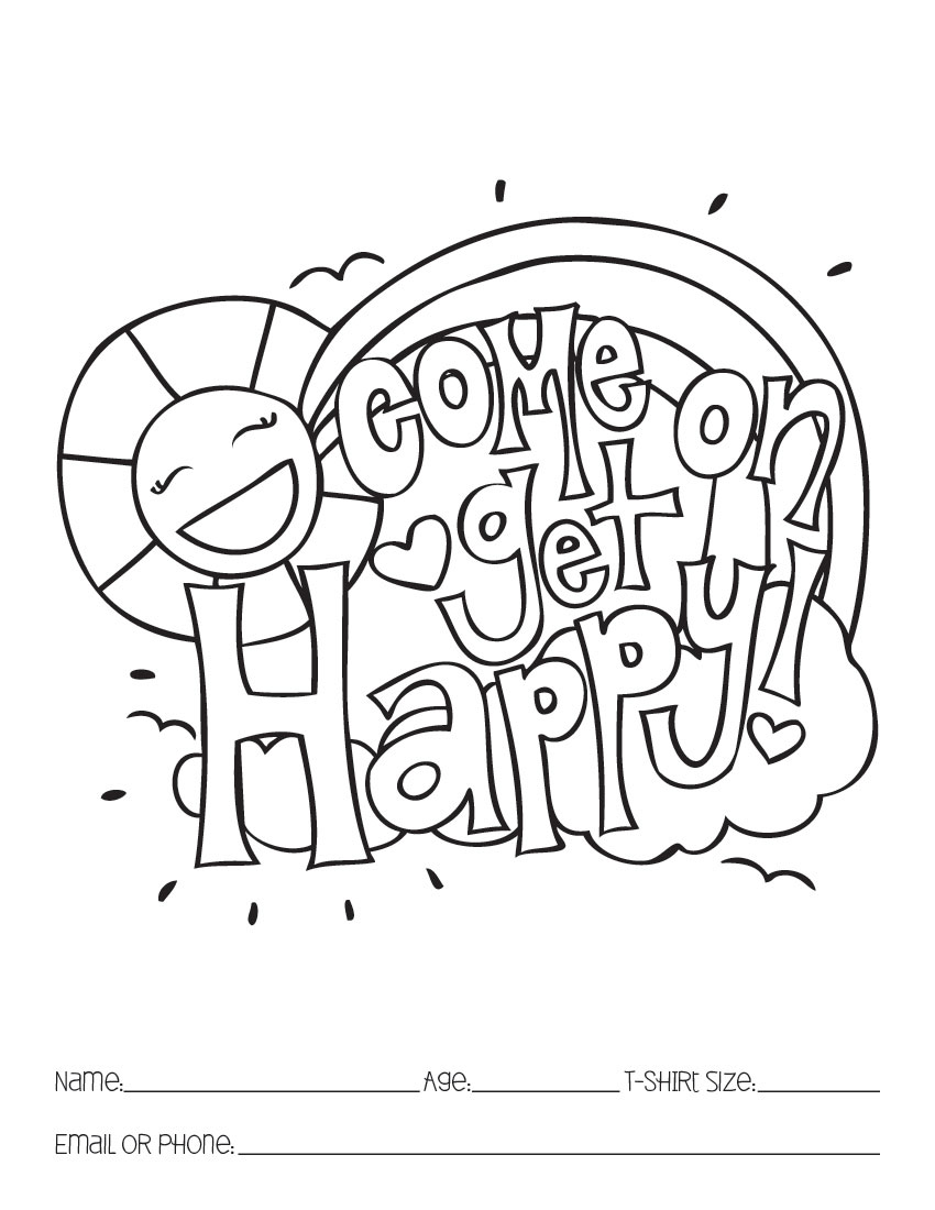 kvoa coloring contest pages - photo#1