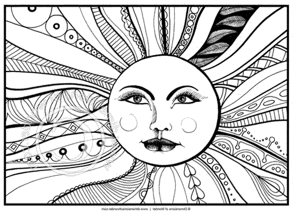 Cool Printable Coloring Pages For Adults | Free Coloring Pages