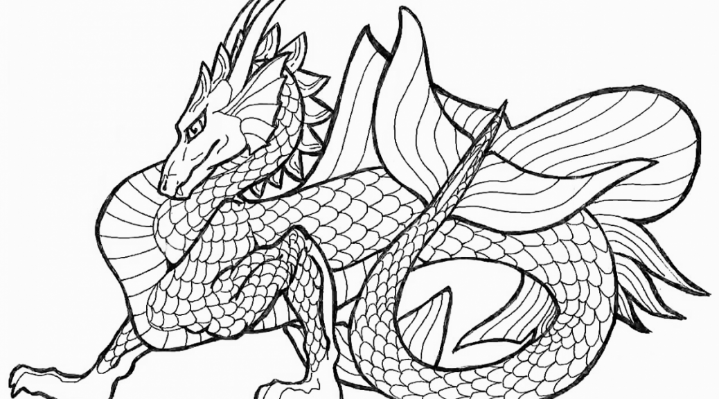 graphic about Free Printable Coloring Pages for Adults Advanced Dragons identified as Cost-free Printable Coloring Web pages For Grown ups State-of-the-art Dragons