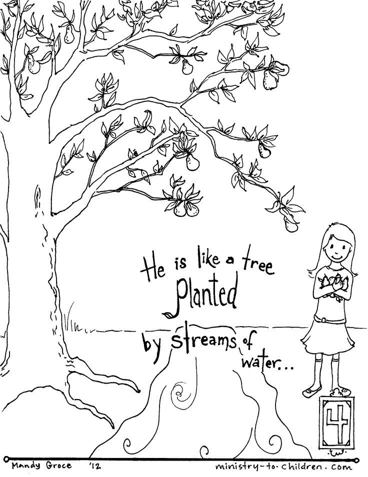 Bible Quote Coloring Pages - Coloring Home