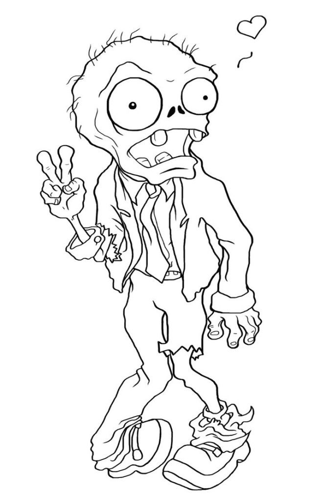 Print Zombie Coloring Page - Toyolaenergy.com