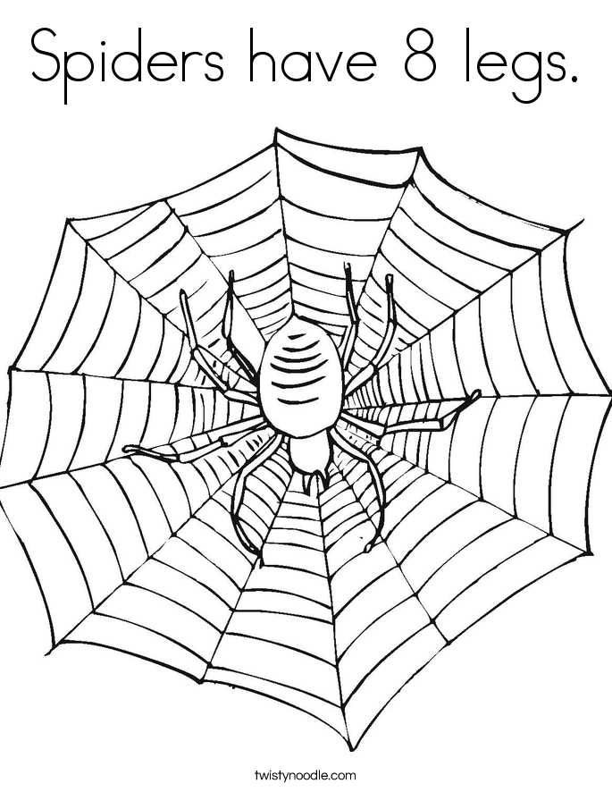 tarantula coloring page - coloring page of a spider coloring home