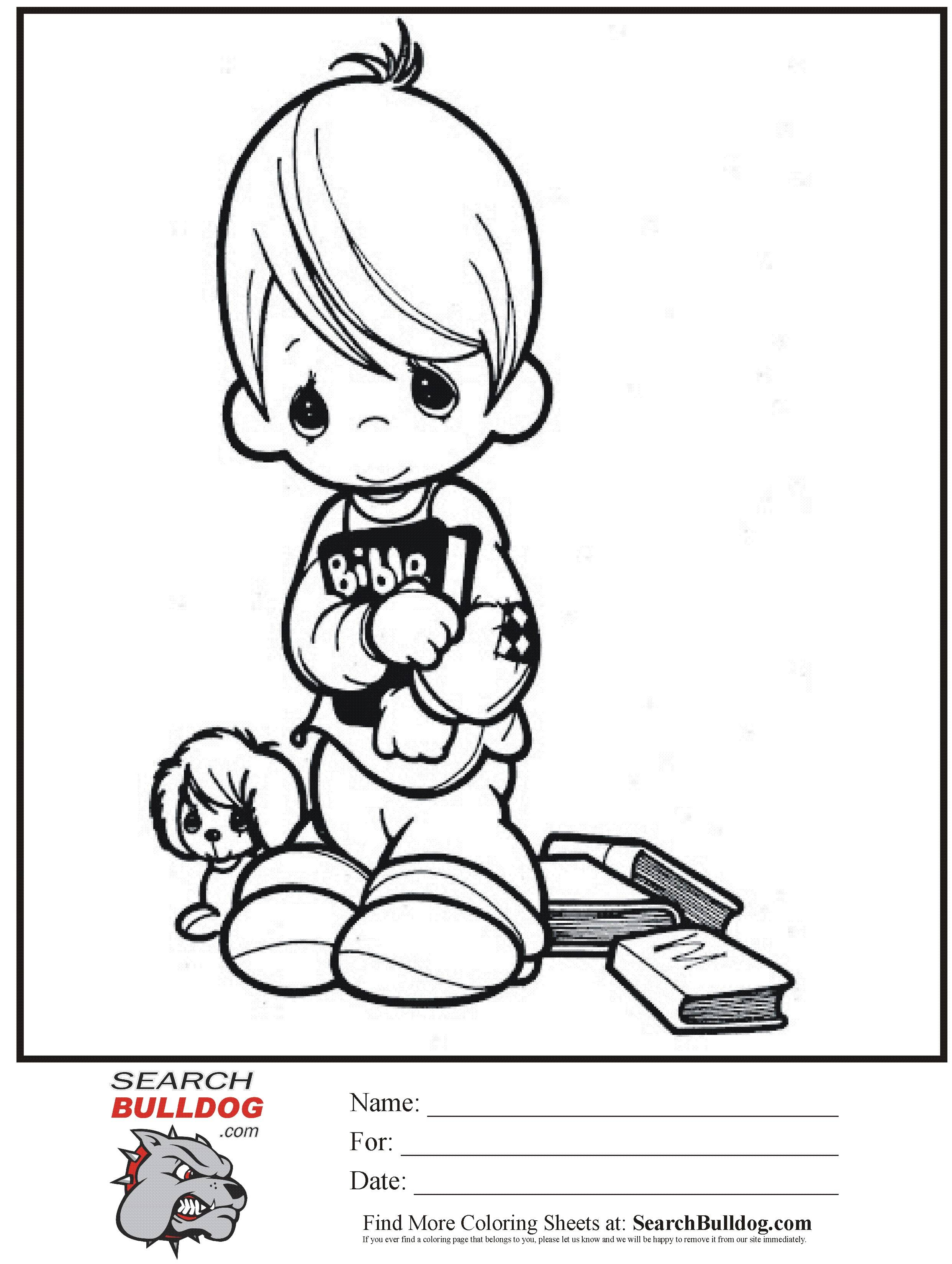 Precious Moments Coloring Pages | Precious moments coloring pages ... | 3299x2485