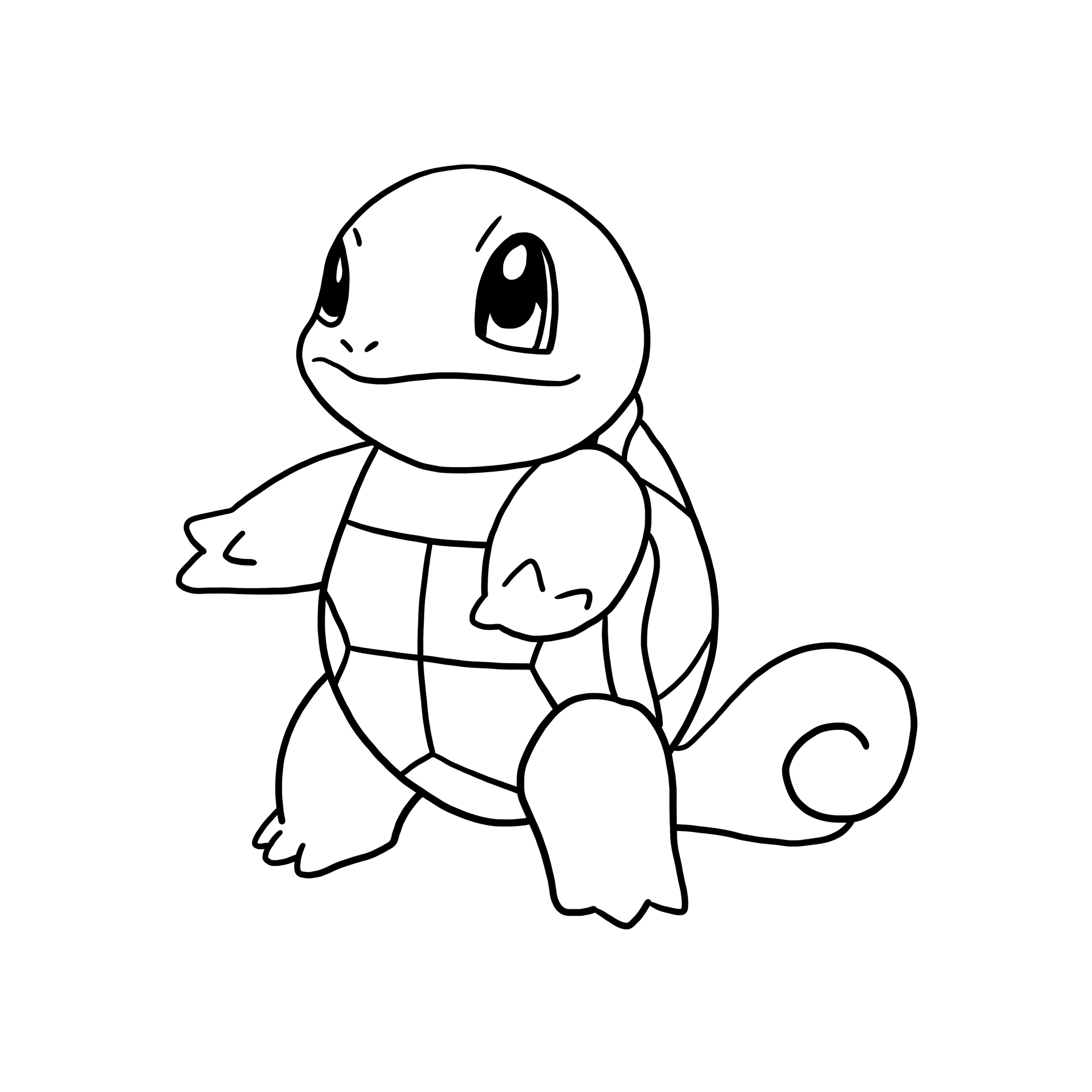 pokemon squirtle coloring pages - photo#9
