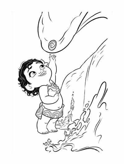 59 Moana Coloring Pages (September 2020)...Maui Coloring Pages too...