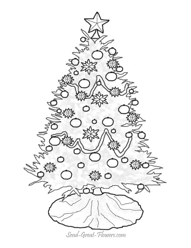 Printable Christmas Coloring Pages With Full Color Guide