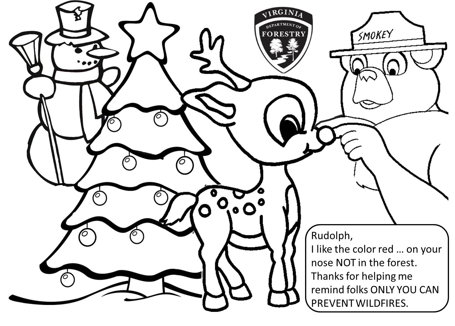 Rudolph Coloring Pages (16 Pictures) - Colorine.net | 22631