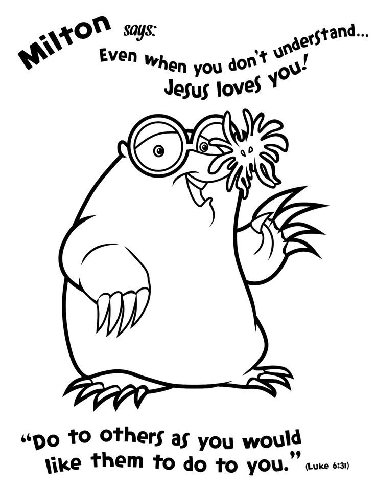 Weird Coloring Pages - Coloring Home