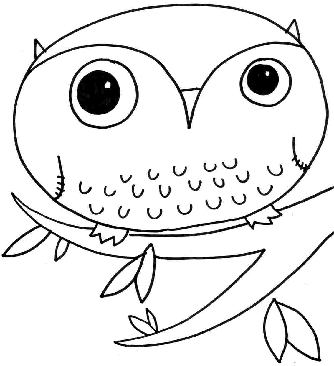 Great Horned Owl Coloring Pages Gianfredanet. Eastern Screech Owl ...
