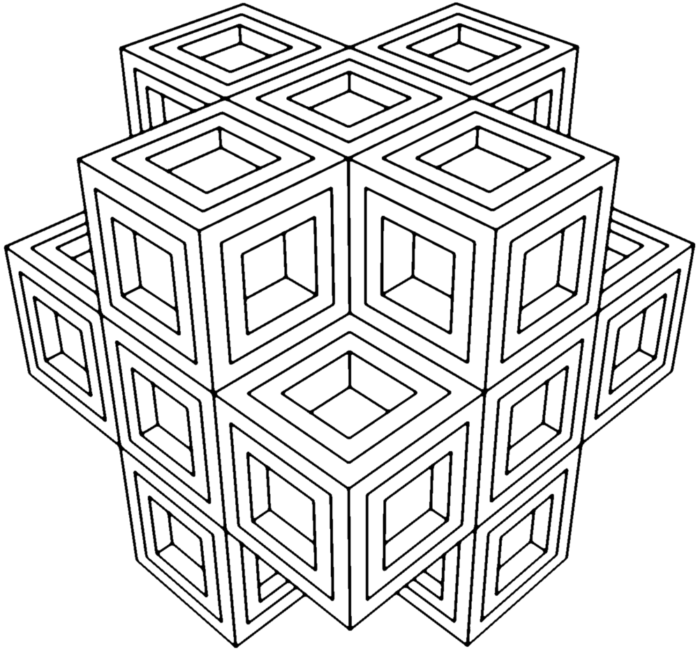 Geometric Coloring Book : Sacred Geometry Coloring Pages Coloring Home
