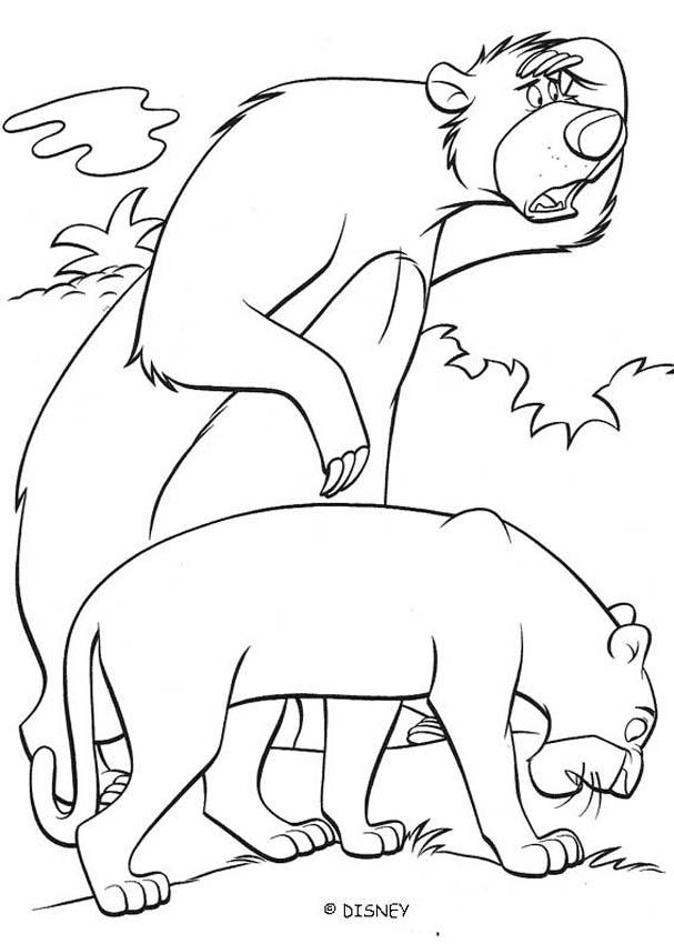 Jungle Book Coloring Pages Pdf : The jungle book original movie printables baloo and