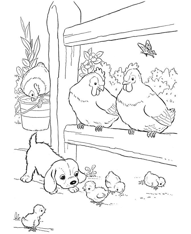 coloring pages of famers - photo#12