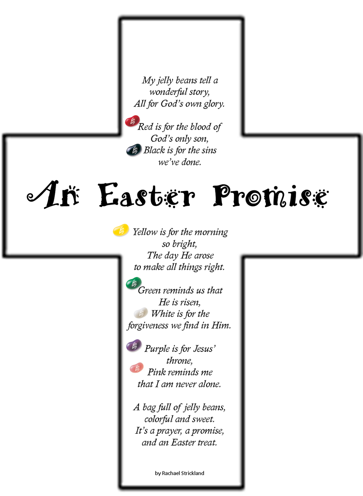 Teaching Integrity: Easter Jelly Bean Poem | Chainimage