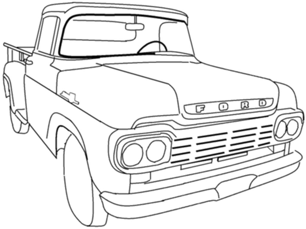 coloring pages old schoolhouse | Printable Coloring Pages Old School Cars - Coloring Home
