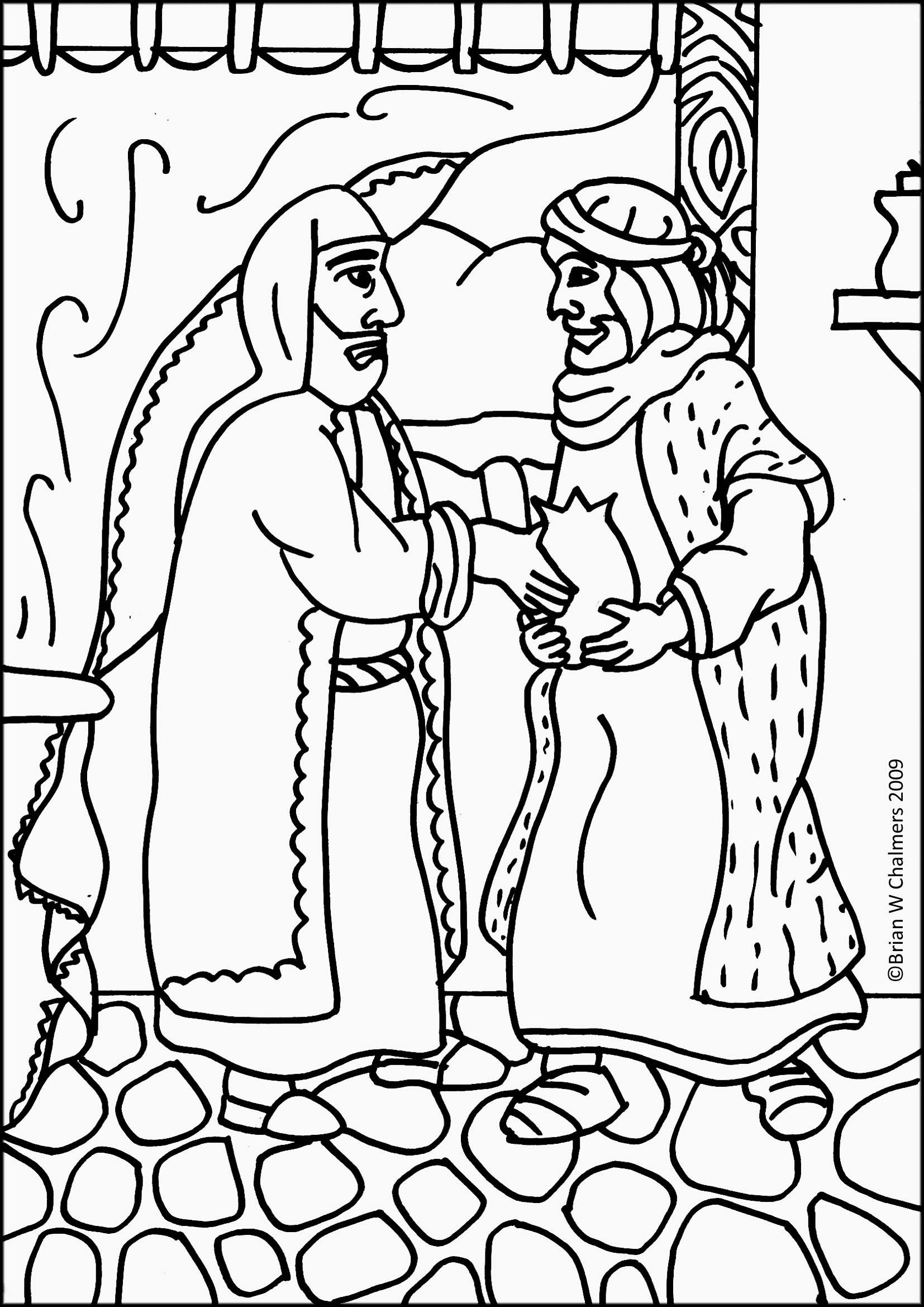 Prodigal Son Coloring Pages Preschool - Coloring Home