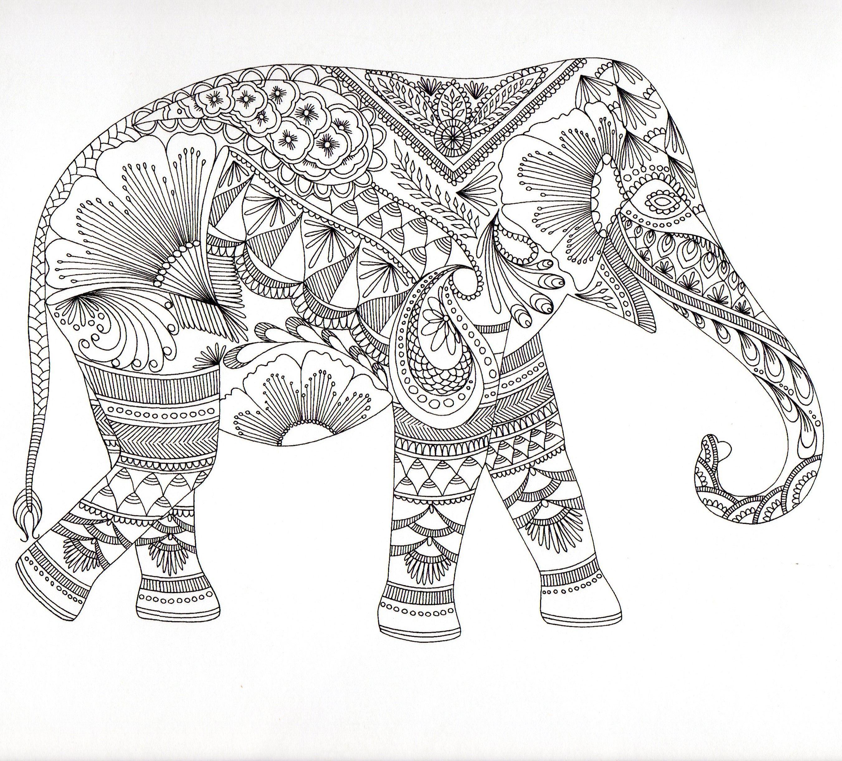 Downloadable adult coloring pages fractals az coloring pages - Dessin animaux fantastiques ...