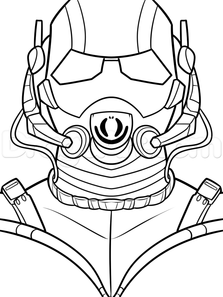 Antman Coloring Pages Coloring